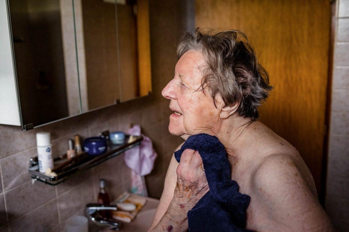 Een dag uit het leven van Jenny, 89, zelfstandig wonend