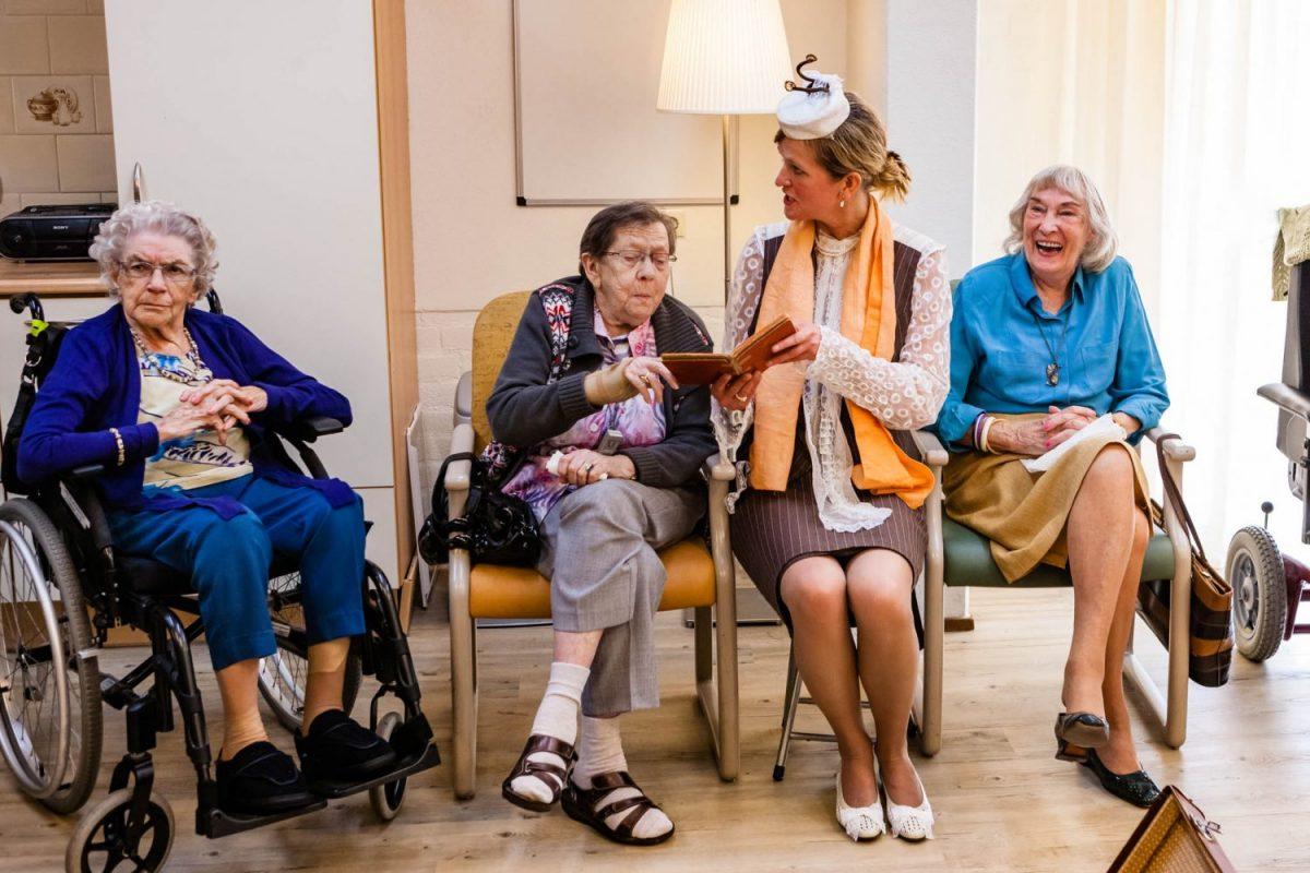 Theater Veder - feest der herkenning voor Alzheimer patiënten