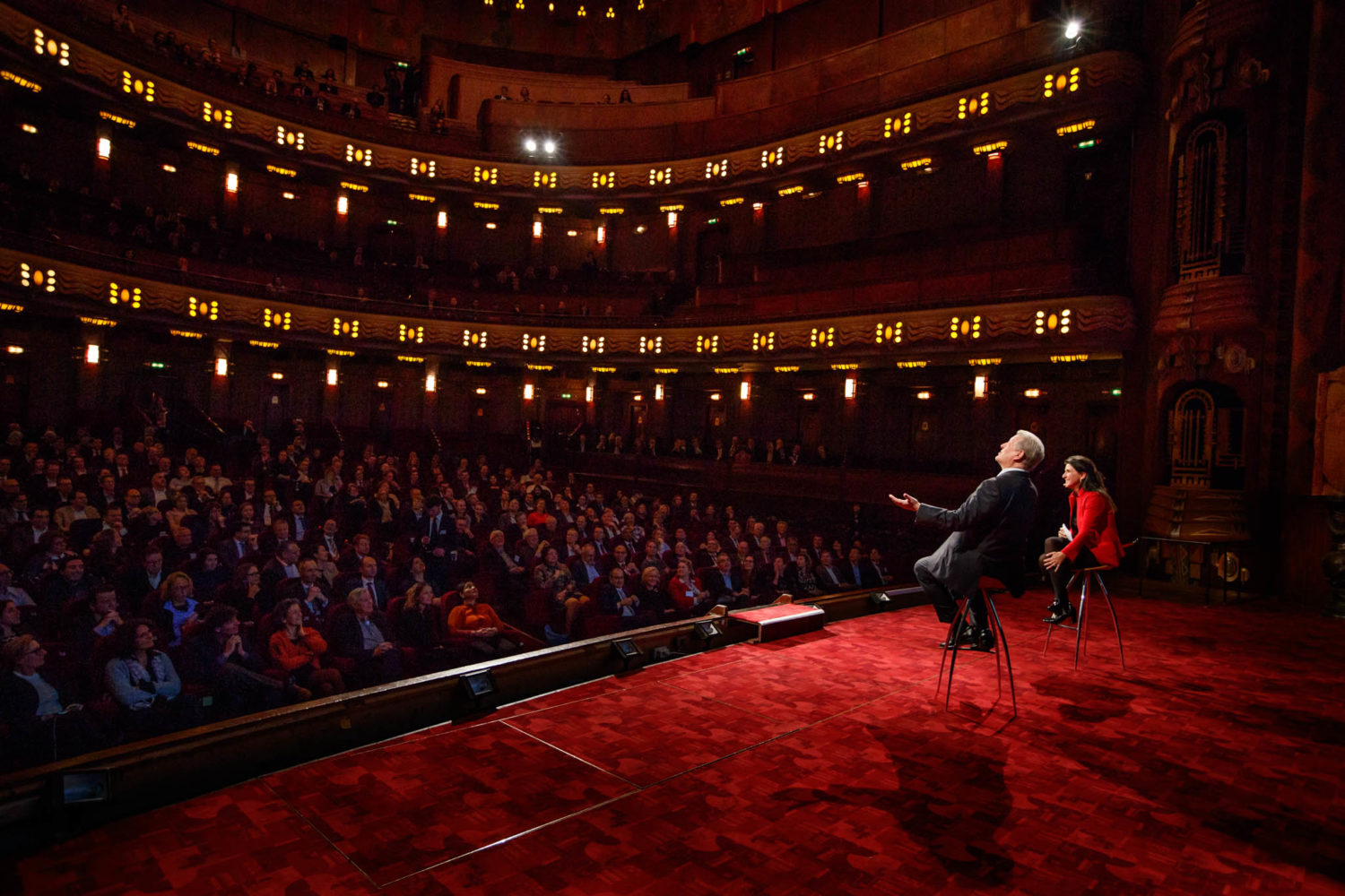 Al Gore at Tuschinski  Amsterdam